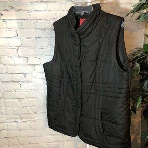 Faded Glory black vest XL
